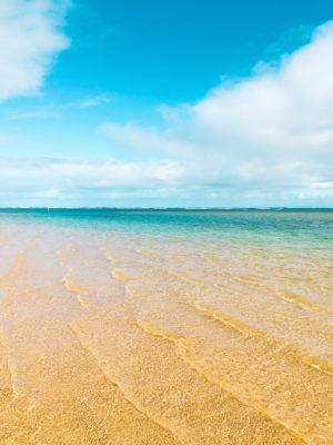 Blue Kauai beach