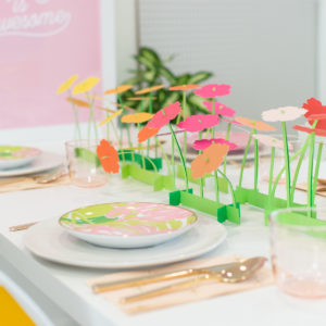 Make a Paper Flower Spring Centerpiece (And a Crazy Cricut Deal!) thumbnail