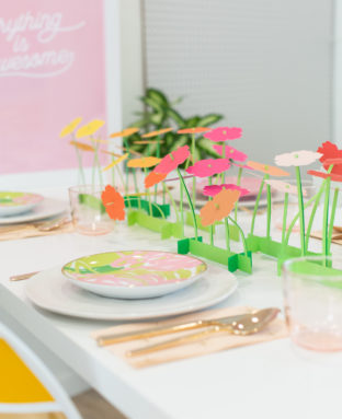 Make a Paper Flower Spring Centerpiece (And a Crazy Cricut Deal!)