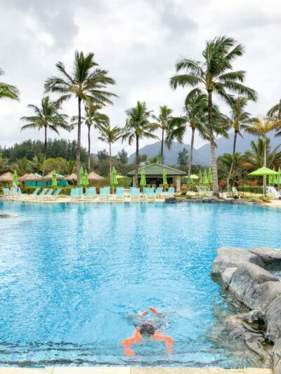 Pool in Kauai