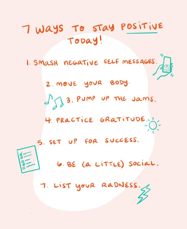 7 Ways to Stay Positive Today thumbnail