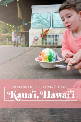 Kauai Restaurant and Shopping Guide