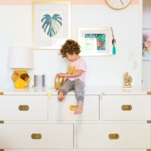 Painting Color-Blocked Walls in Maggie's Room (With AAFA Certified Paint!) thumbnail