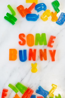 Alphabet Jello Treats