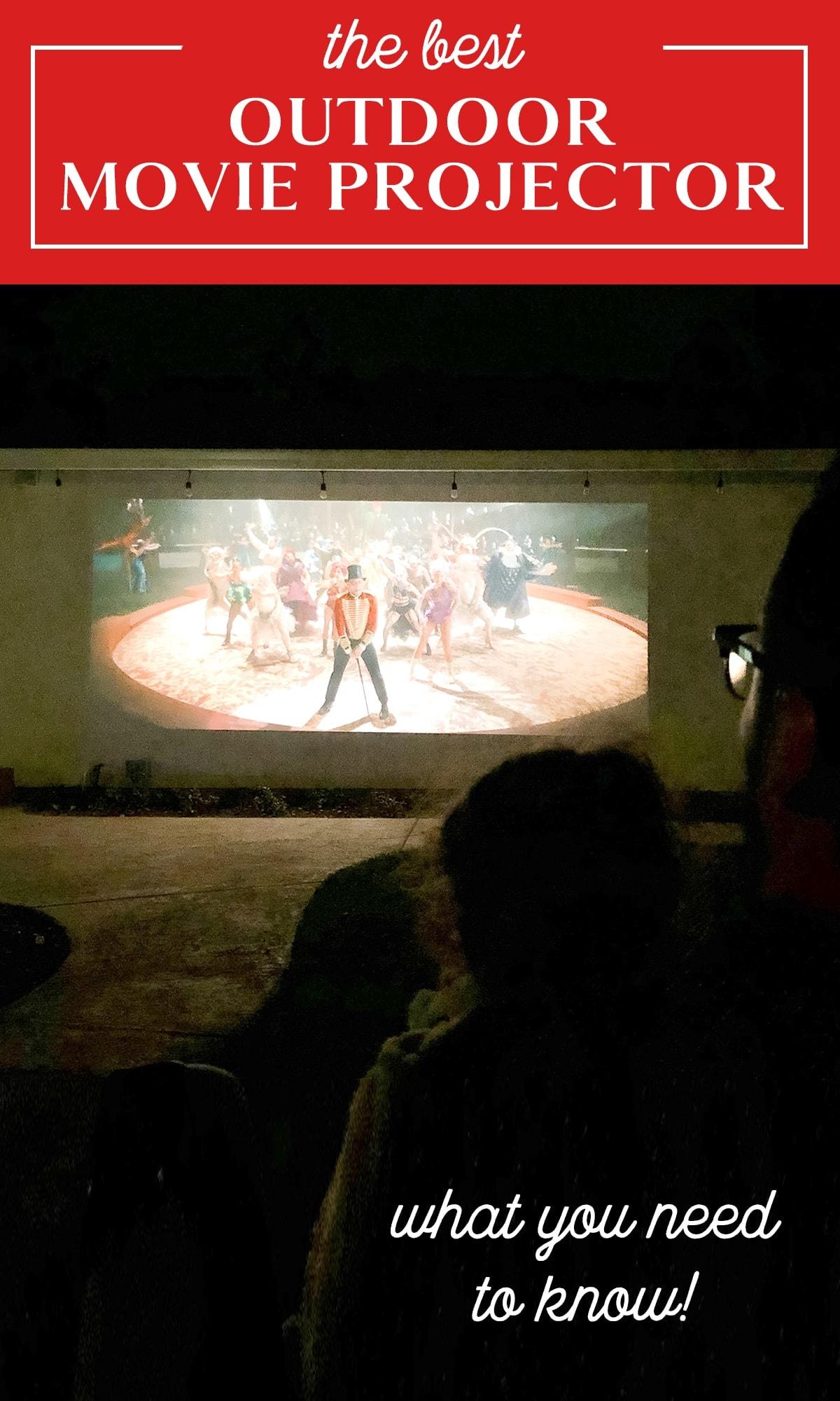 legjobb kültéri projektor