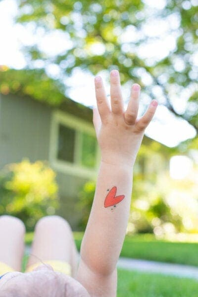 Free printable Fourth of July Tattoos