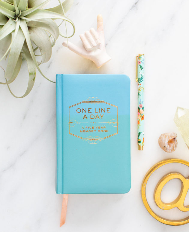 Brilliant Parenting Hack for a One Line a Day Journal thumbnail
