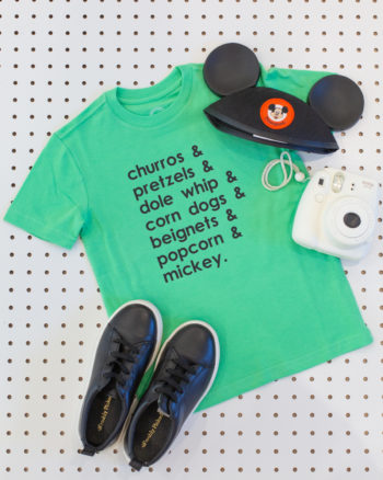How to Make Disneyland T-Shirts