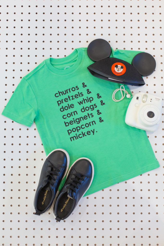 Two Cute Shirt Ideas for Your Next Disneyland Trip (with Free Patterns!)