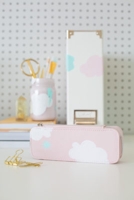 DIY painted back to school supplies