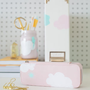 How to Make Back to School Supplies with Painted Patterns thumbnail