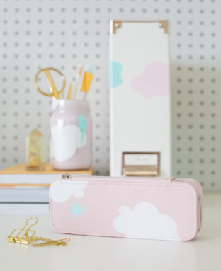 How to Make Back to School Supplies with Painted Patterns