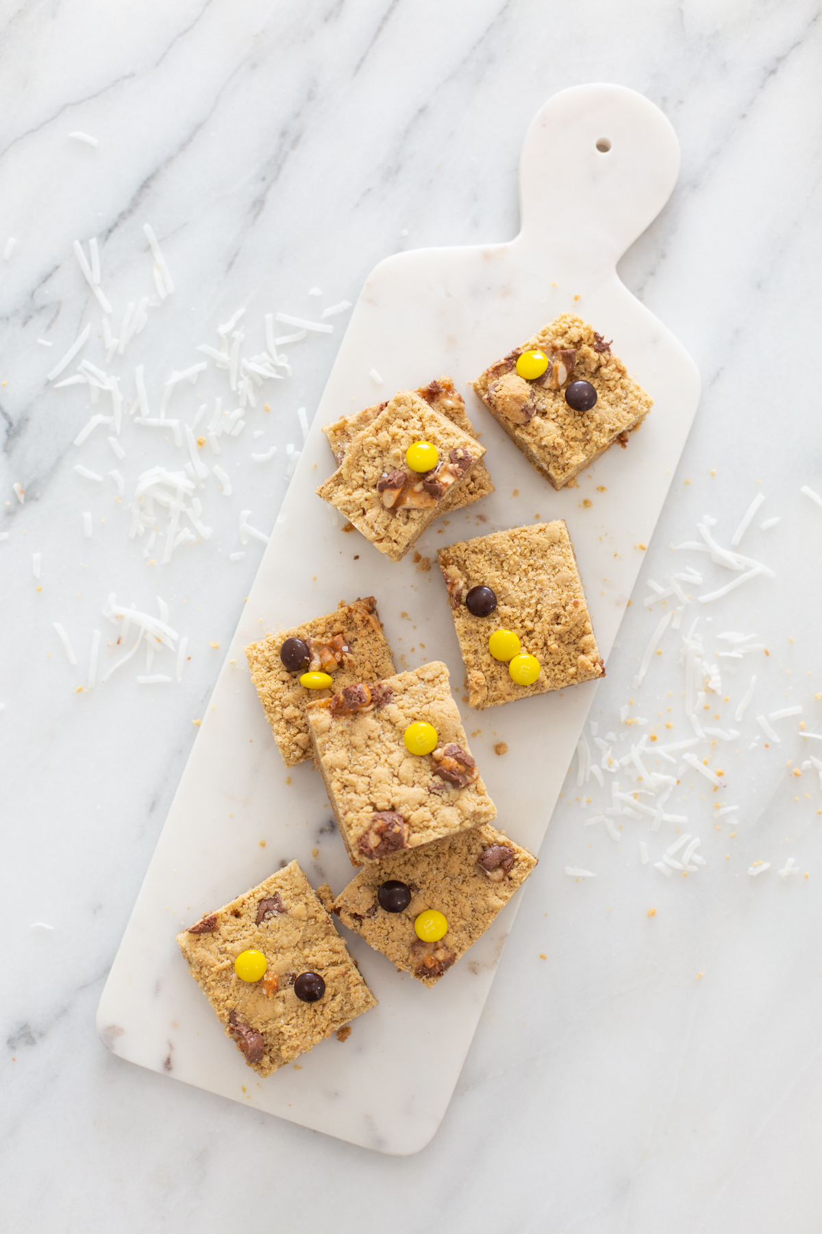 Salted Candy Blondie Bar Recipe