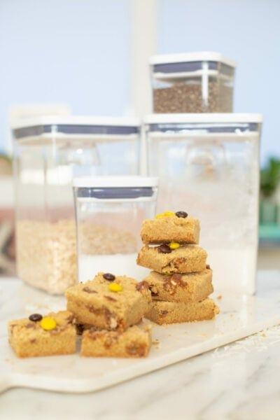 Salted Candy Blondie Bar Recipe