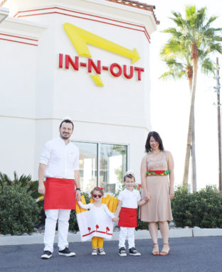 How to Make a Family In-N-Out Burger Halloween Costume