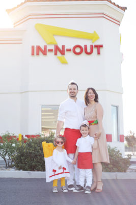 How to make a family In-N-Out costume