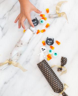 How to Make Halloween Crackers
