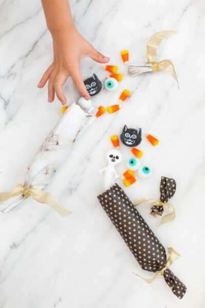 How to Make Halloween Crackers