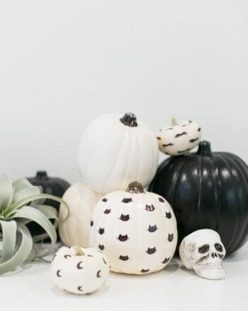 How to Make Sharpie Pattern Halloween Pumpkins