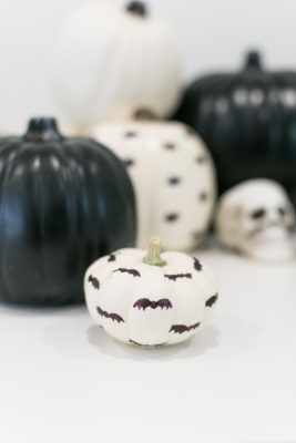 How to Make Sharpie Pattern Halloween Pumpkins