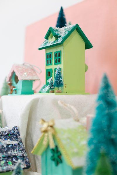 How to make a Christmas Village Advent Calendar