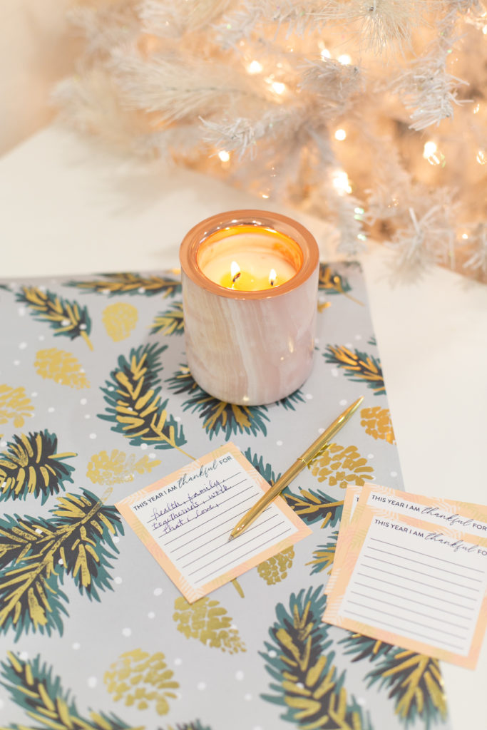Printable gratitude cards for Thanksgiving
