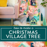 christmas village tree