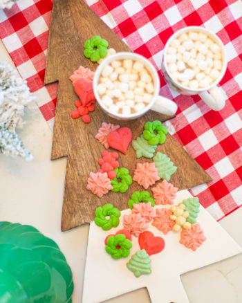 Christmas spritz cookie recipe