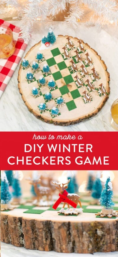 winter checkers game