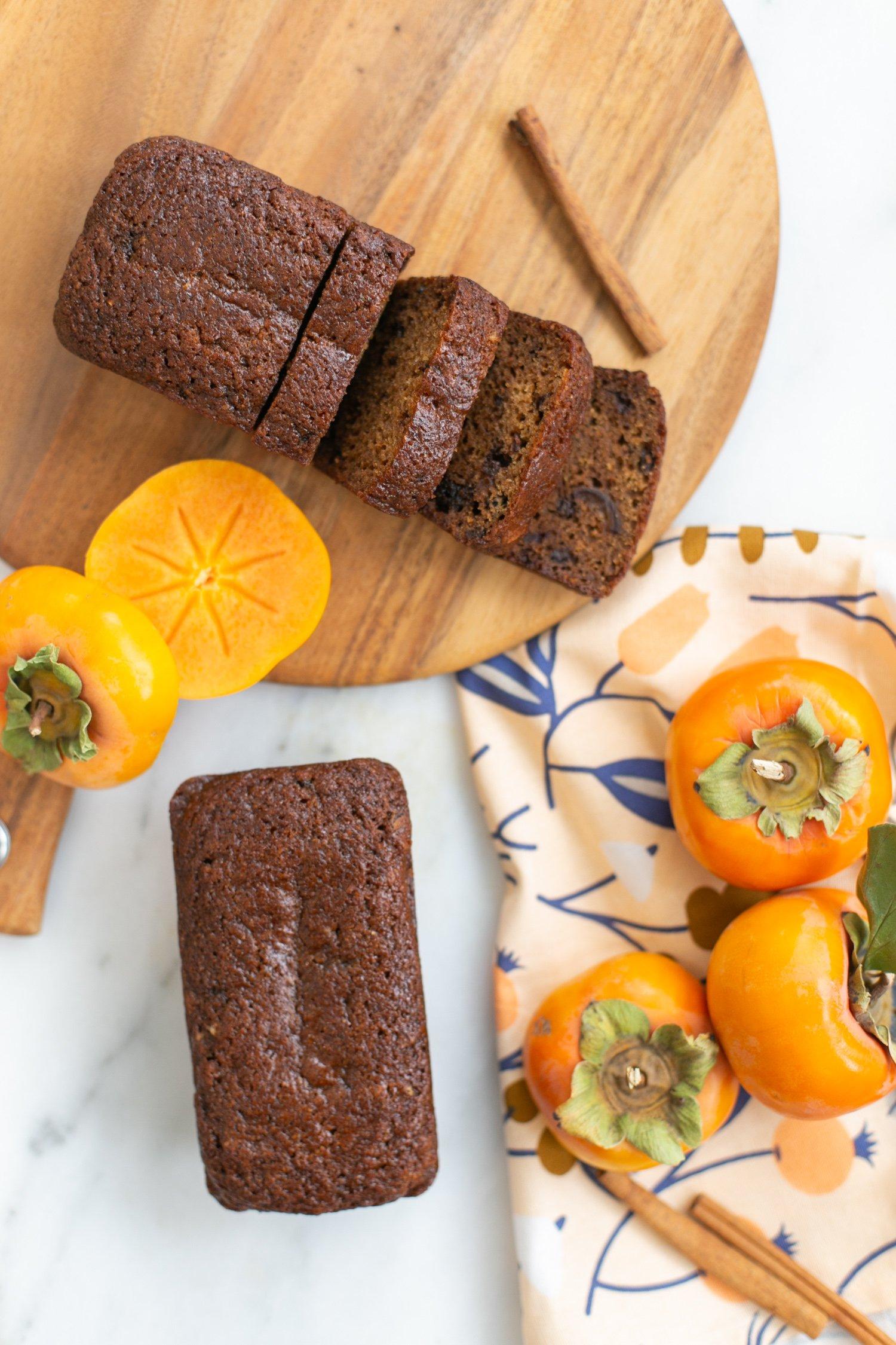The perfect persimmon bread recipe