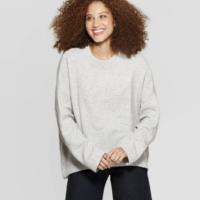 Women's Casual Fit Crewneck Pullover Sweater - A New Day™