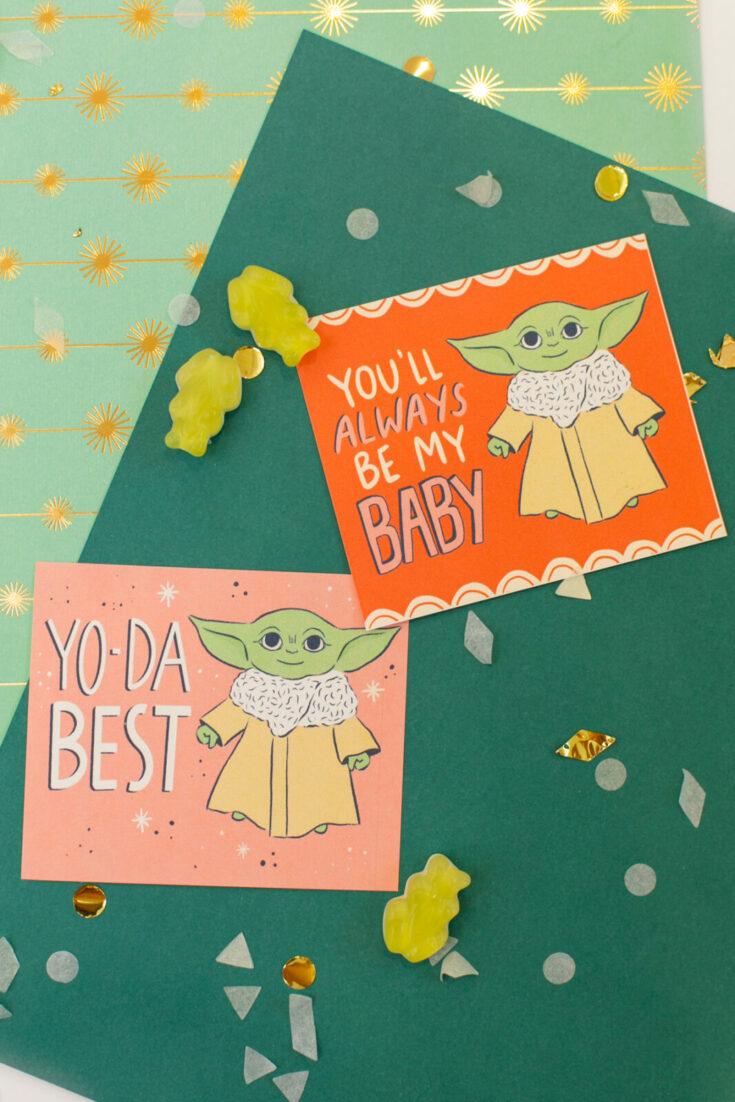 Baby Yoda Valentines