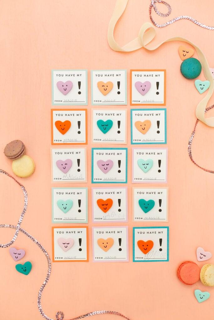 DIY Ton Herz Valentinstag