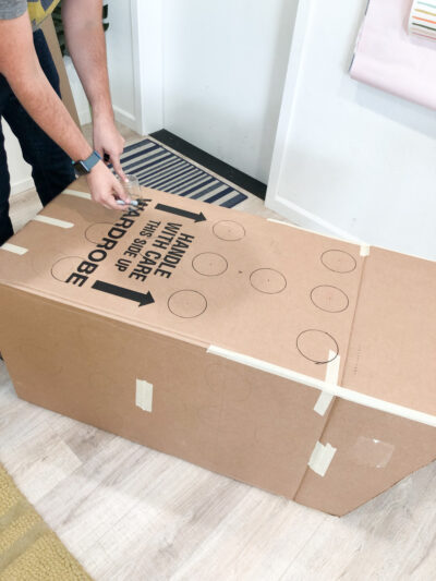 How to make a prize punch box for a party