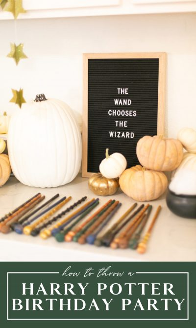 How to throw a Harry Potter birthday party