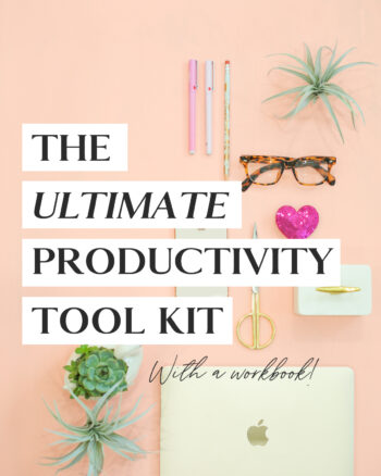 productivity tool kit