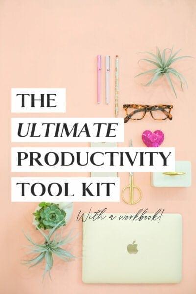 productivity tool kit