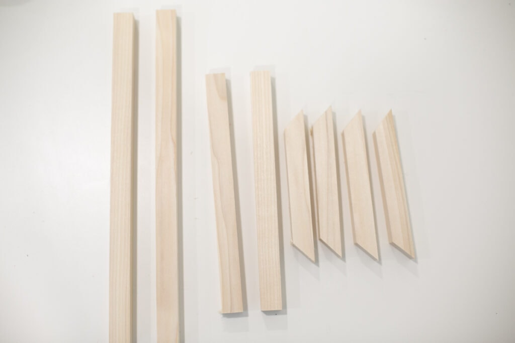 materials for a diy xylophone