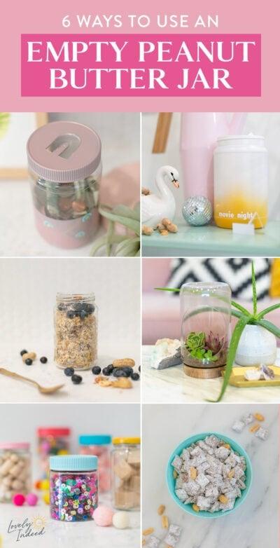 how to reuse empty jars