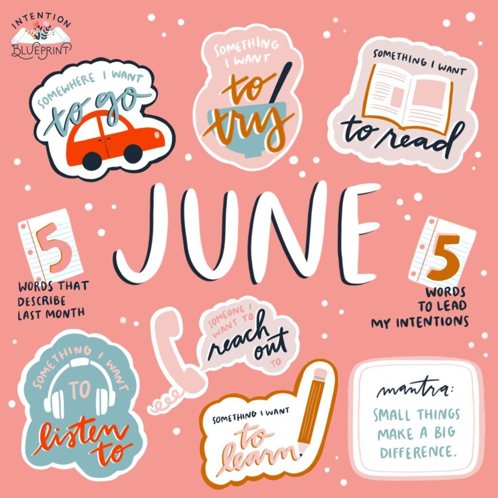 June intention blueprint