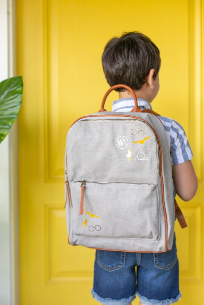 DIY Harry Potter backpack