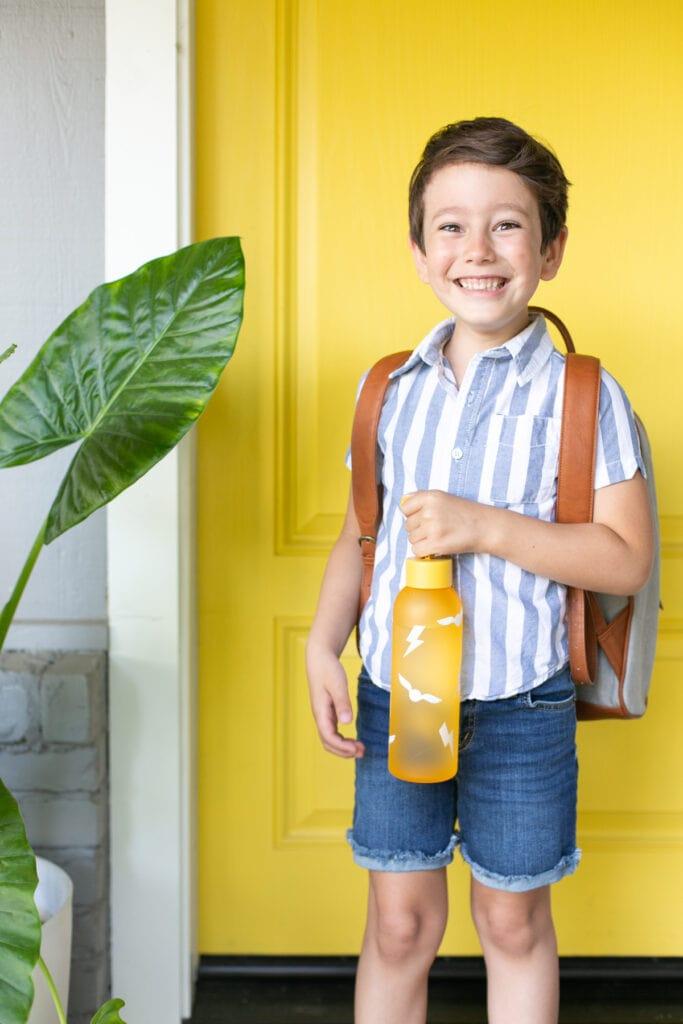 Harry Potter water bottle DIY