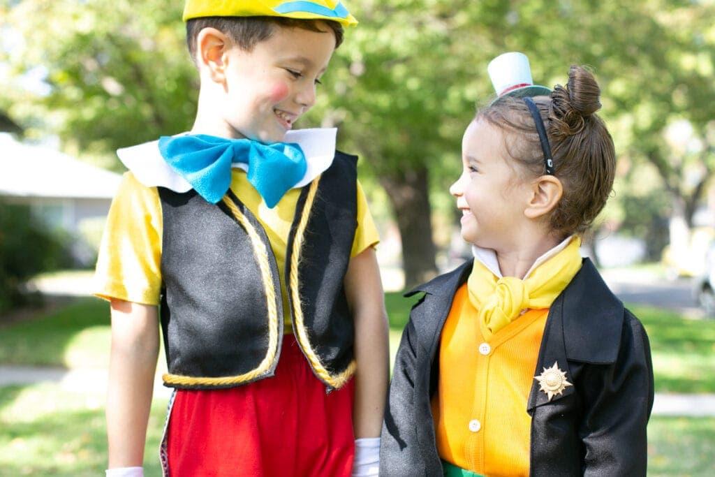 jiminy cricket and pinocchio costume
