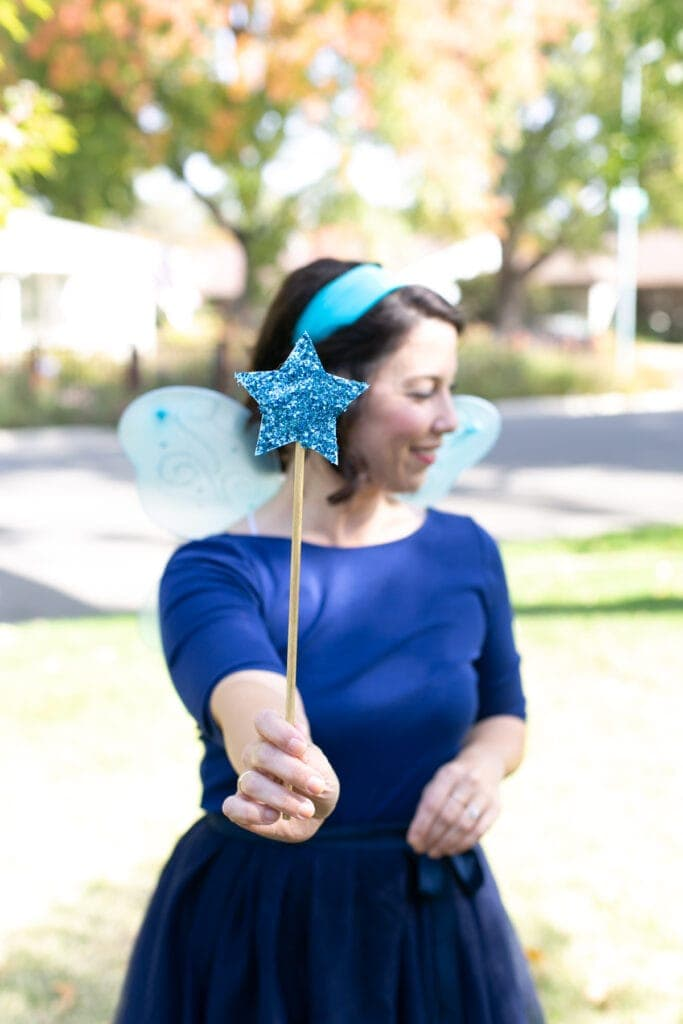 blue fairy costume