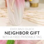 DIY neighbor gift