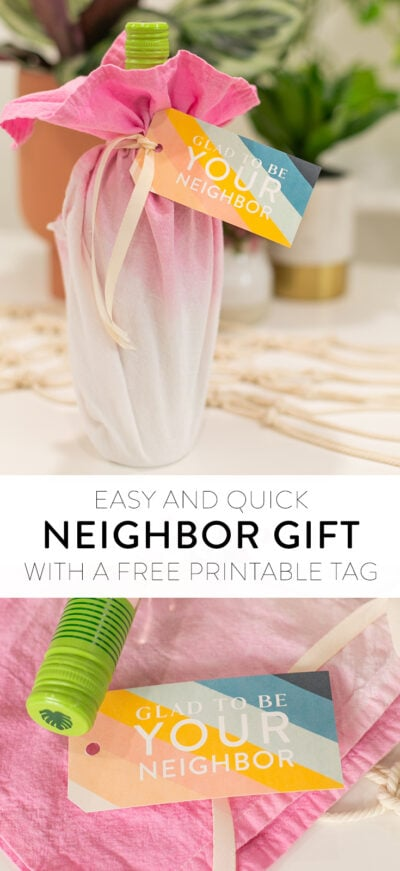DIY neighbor gift