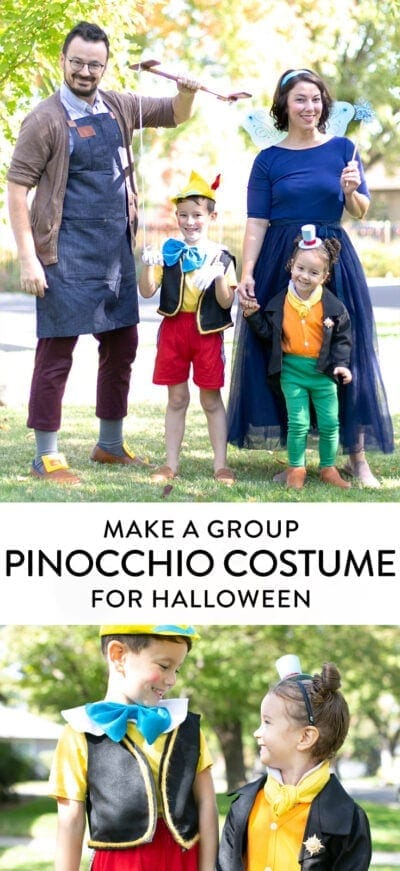 how to make a Pinocchio costume