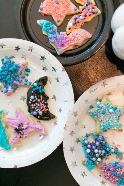vampirina themed cookies