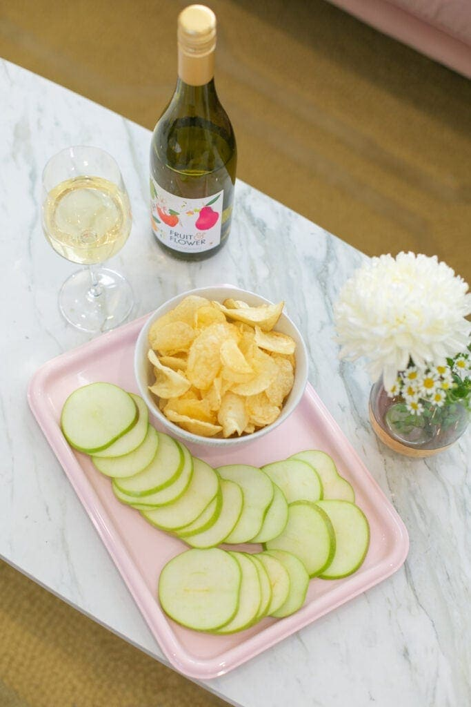 wine and snack pairings
