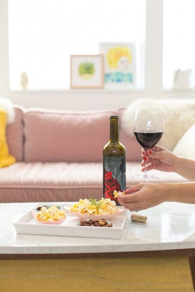 wine and snack pairings